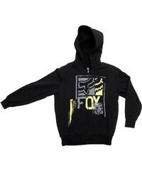 dětská mikina FOX - Boys Evanite Sherpa Zip Front Black (001)
