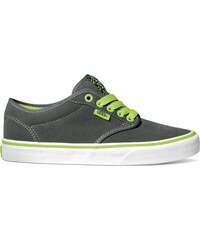 boty VANS - Atwood (Neon) Charcoal/Neon Green (8PS)
