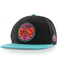 kšiltovka K1X - Ball Tag Snapback Cap Black/Mint (0330)