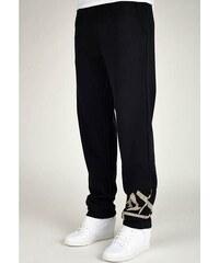 kalhoty K1X - At Large Tag Sweatpants Black/White (0010)
