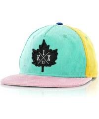 kšiltovka K1X - Icecream Snapback Blue/Yellow (4200)