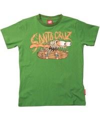 triko SANTA CRUZ - Youth Bone Slasher Mint Green (MINT GREEN)
