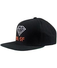 kšiltovka DIAMOND - Dl-Sf Black Black (BKBK)