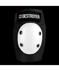 chránič DESTROYER - Am Elbow Black/White (BWT)