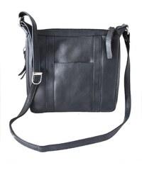 Arwel Kožená zipová kabelka