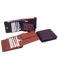 Arwel Pánská kožená peněženka -hnědá