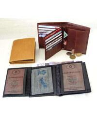 Arwel Pánská kožená peněženka- koňak