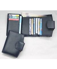 Arwel Modrá kožená peněženka rámová