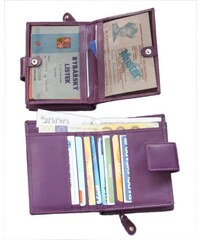 Arwel Dámská kožená peněženka se zápinkou