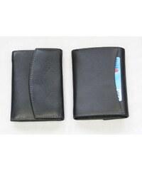 Arwel černá dámská kožená peněženka s klopnou