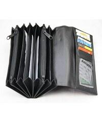 Arwel kožená číšnická peněženka-kasírka