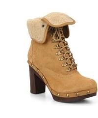 Mikonos boots fur par No Name