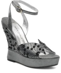 Terry de Havilland - LIZZY LACE - Sandalen für Damen / silber