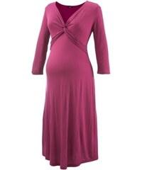 9Monate Vínové těhotenské šaty