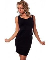 Emamoda Collection Malé černé šaty