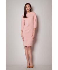 Dámské šaty Figl M181 sytě růžová