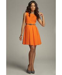 Dámské šaty Figl M083 oranžové