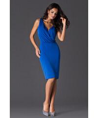 Dámské šaty Figl M135 modré
