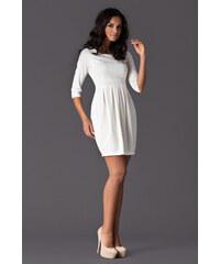 Dámské šaty Figl M122 smetanové