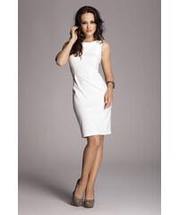 Dámské šaty Figl M079 smetanové