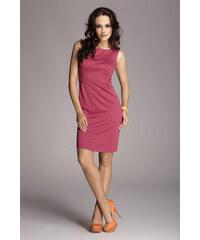 Dámské šaty Figl M079 fuchsiové