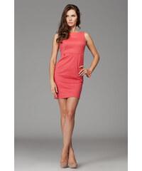 Dámské šaty Figl M079 korálové