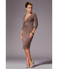 Dámské šaty Figl M018 hnědé