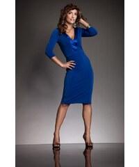 Modré šaty Nife S08