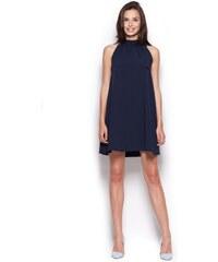 Dámské šaty FIGL M277 modré