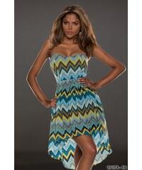 Lucky, Itálie Barevné letní šaty