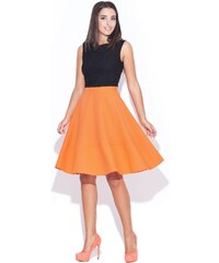 Dámská sukně Katrus K055 oranžová
