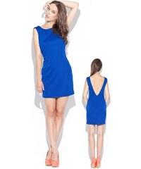 Dámské šaty Katrus K025 modré