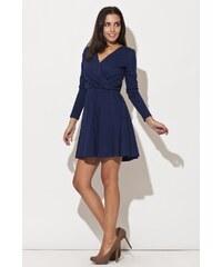 Dámské šaty Katrus K116 modré