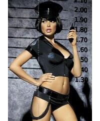 Sexy kostým Obsessive Police set Černá