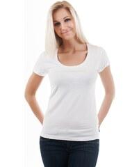 Dámské tričko Emporio Armani 163377 4P263 bílé Bílá
