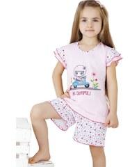 Dětské pyžamo Cornette 787/22 Starorůžová1