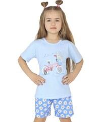 Dětské pyžamo Cornette 787/20 Světle modrá