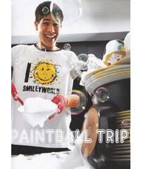 Pyžamo Smiley World AI 24110 Bílá+černá