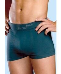 Gina - bambusové vlákno Pánské boxerky Bamboo Gina 53004 Černá