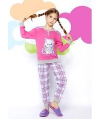 Bucciadimela Dětské pyžamo Buccia di mela GI6502A Růžová