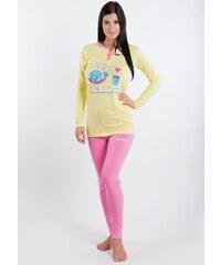 Dámské pyžamo Diadora 62336 žlutá Sv. žlutá