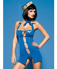 Sexy kostým Obsessive Air Hostess Dle obrázku