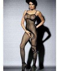 Body Obsessive Bodystocking N104 Černá