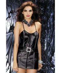 Sexy kostým Obsessive Biker dress Černá