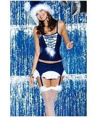 OBSESSIVE Vánoční kostým Snowflake corset