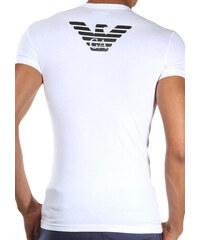 Pánské tričko Emporio Armani 111275 CC725 bílá Bílá