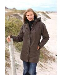 Značková funkční bunda, dámské bundy levně, H.I.S. 42 hnědá