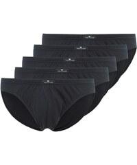 TOM TAILOR 5 PACK Slip black