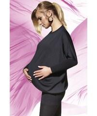 Halenka Bas Bleu Emi - těhotenská, černá
