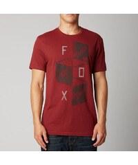 Pánské tričko Fox Polar SS premium TEE RED L